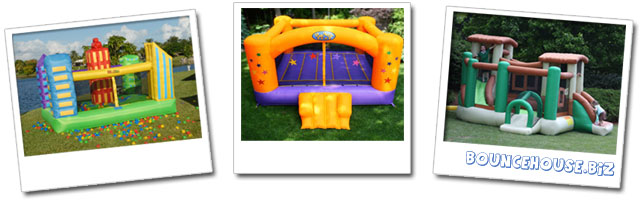 Bounce House, Moon Bounce, Moonwalk, Spacewalk, Inflatable bouncers and Bouncy Castle.