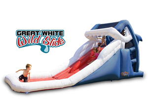 Blast Zone Great White Shark Wild Slide