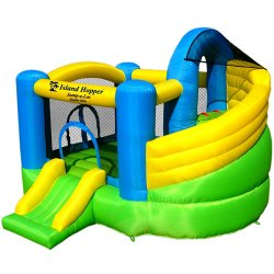 Jump-A-Lot Double Slide Bounce House