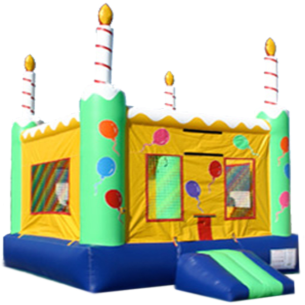 13ft x 13ft Inflatable Birthday Cake Jumper