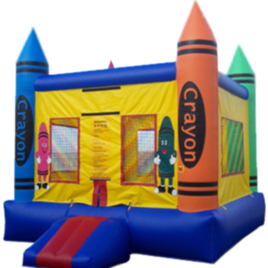 13ft x 13ft Inflatable Crayon Jumper Box Frame