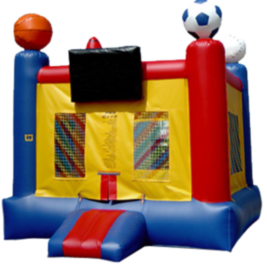 13ft x 13ft Inflatable Sports Jumper Box Frame