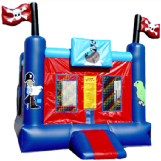13ft x 13ft Inflatable Pirate Jumper