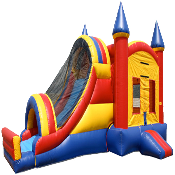 Inflatable Classic Castle Single Lane Combo