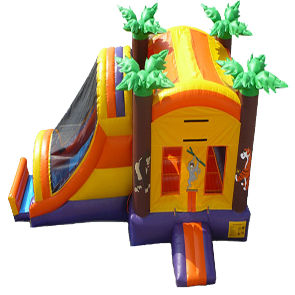 Inflatable Jungle Safari Inflatable Combo Jumper