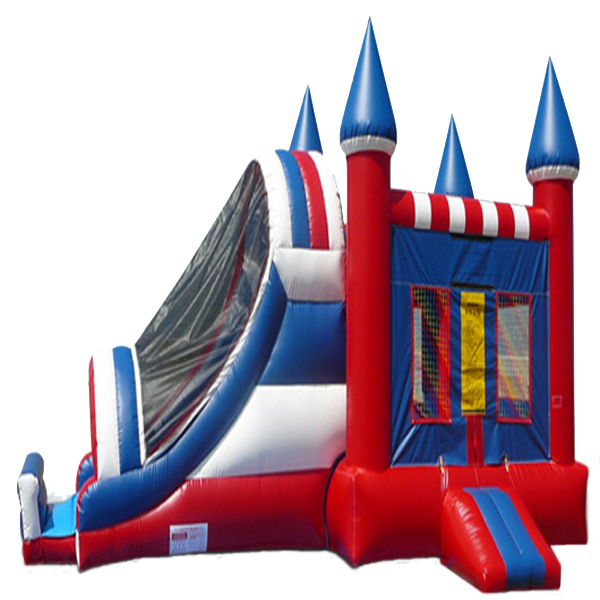 Inflatable USA Castle Inflatable Combo Jumper