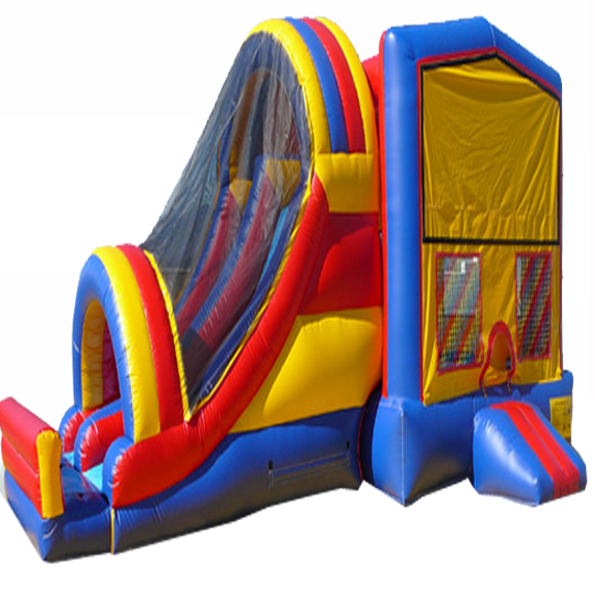Inflatable Dual Slide Module Inflatable Combo Jumper