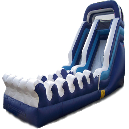 Inflatable 35' Inflatable Water Slide n Slip and Slide Combo