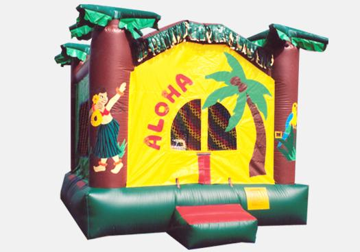 Aloha Hawaiian Bouncer 13'- Commercial Inflatable Bounce House