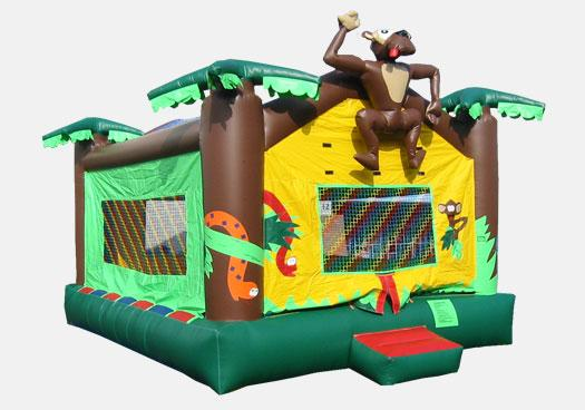 15 x 20 Jungle Bouncer - Commercial Inflatable Bounce House