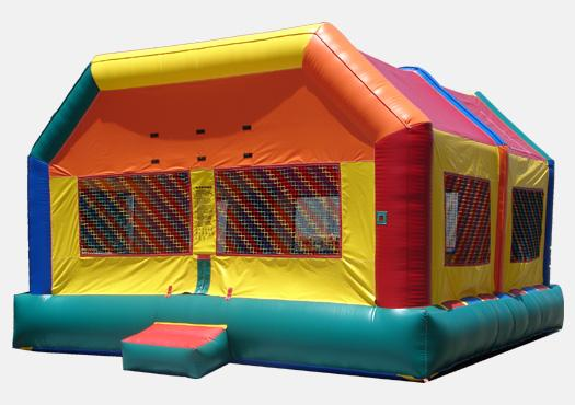 Extra Large Fun House Bouncer - Commercial Inflatable Bounce Hou