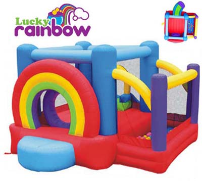 KIDWISE LUCKY RAINBOW BOUNCER [KW-KWSS-RB-601]